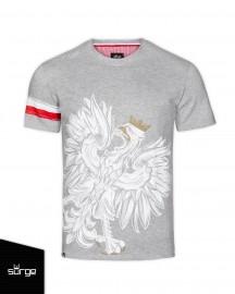 7eb93efc03c2 Koszulka patriotyczna Surge Polonia Orzeł Sport OPASKA (JASNY MELANŻ ...
