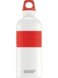 Butelka SIGG CYD Pure White/Red 0.6L (1585182)