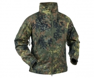 Kurtka Helikon Gunfighter Shark Skin Windbloker - Flecktarn (1635751)
