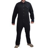 Kombinezon Coverall Men's Black Army Pattern - stan dobry (1018121)