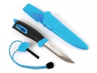 Nóż z krzesiwem Light My Fire FireKnife Cyan Blue (1584738)