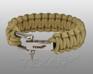 Bransoleta survivalowa Texar Paracord - coyote (1017938)