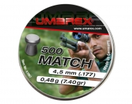 Śrut Umarex Match 4,5 mm 500 szt. (1610350)